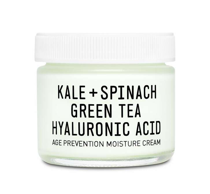 Replace your heavy winter face cream with a quick-absorbing gel-like cream like  Youth to the People Age Prevention Cream. This fluffy  moisturizer, packed with free radical-fighting antioxidants like kale, spinach,  and green tea, also hydrates with hyaluronic acid and sunflower seed oil. $48.  www.sephora.com. S,A,B,C,OC,D,M