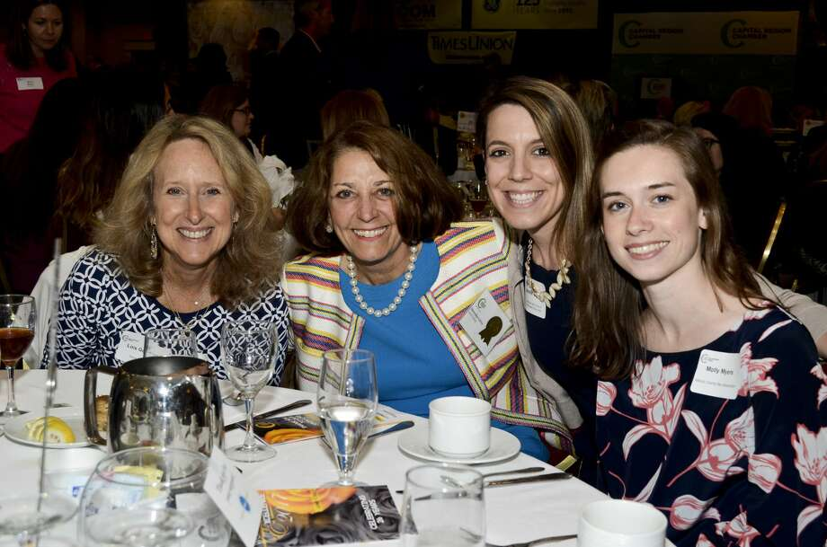 Were you Seen at the 26th Annual Women of Excellence Luncheon at the Albany Marriott on June 1, 2017? Photo: Colleen Ingerto/Colleen Ingerto / Times Union
