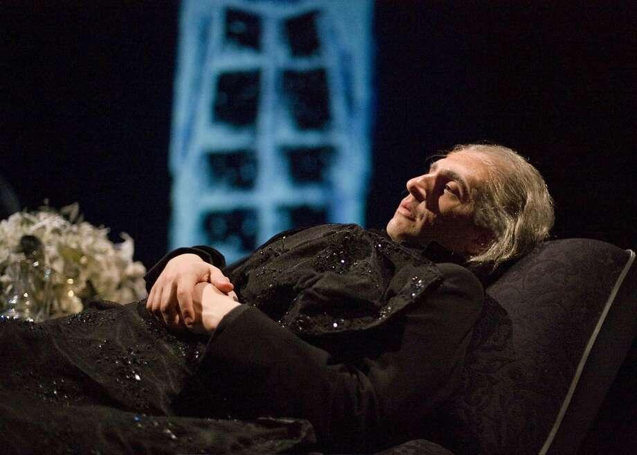 "Hershey Felder in TheatreWorks' ""Hershey Felder, Beethoven."" Photo: Craig Schwartz"