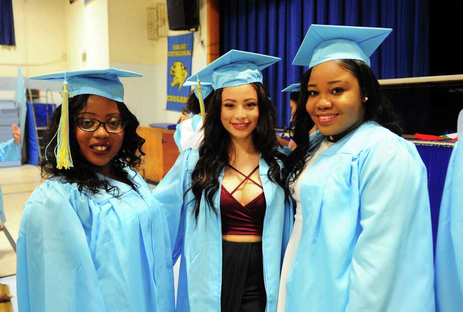 Kolbe Cathedral's Class of 2017 Commencement Exercises at St. Augustine Cathedral in Bridgeport, Conn., on Thursday June 1, 2017. Photo: Christian Abraham, Hearst Connecticut Media / Connecticut Post