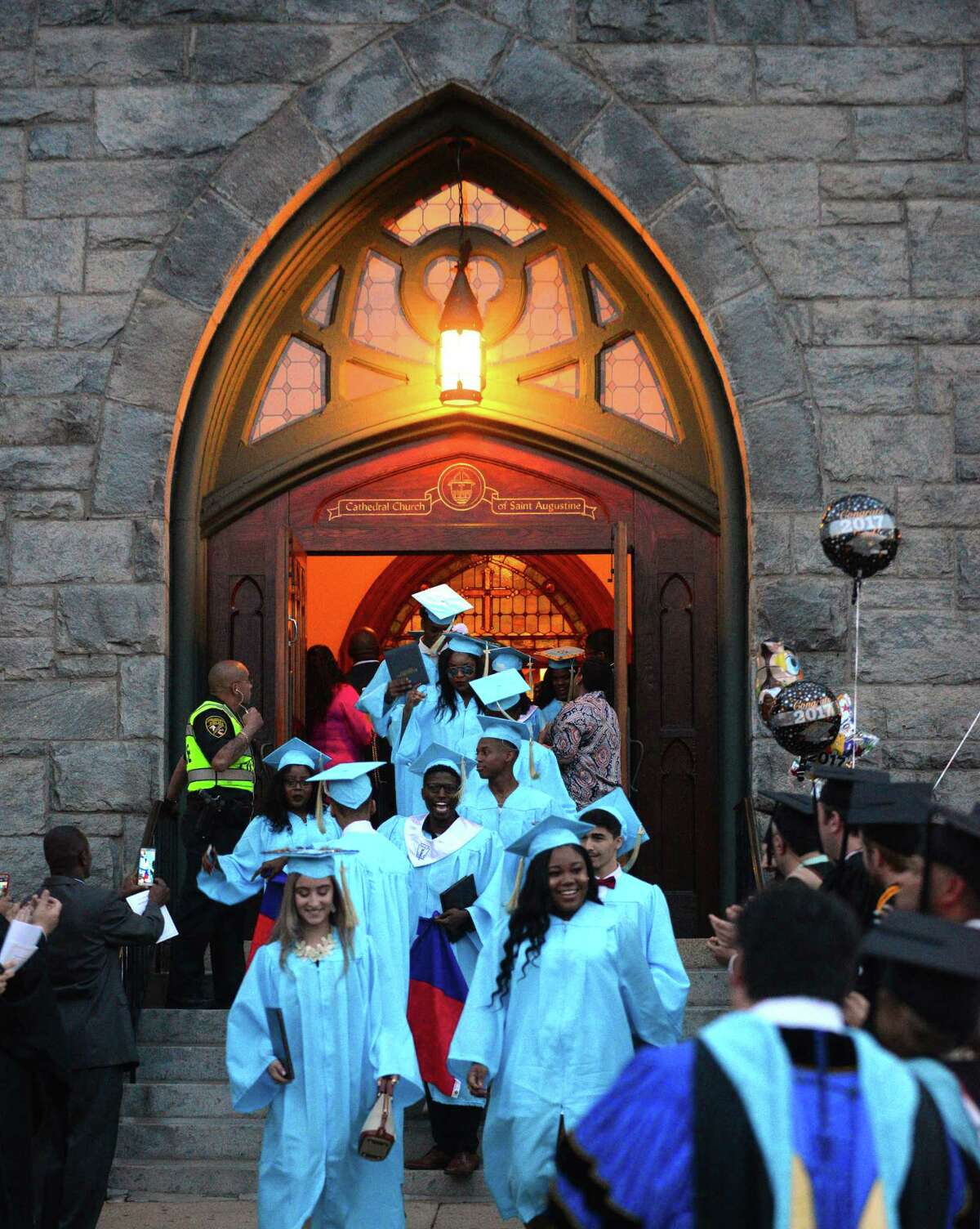 Kolbe Cathedral's Class of 2017 Commencement Exercises at St. Augustine Cathedral in Bridgeport, Conn., on Thursday June 1, 2017.