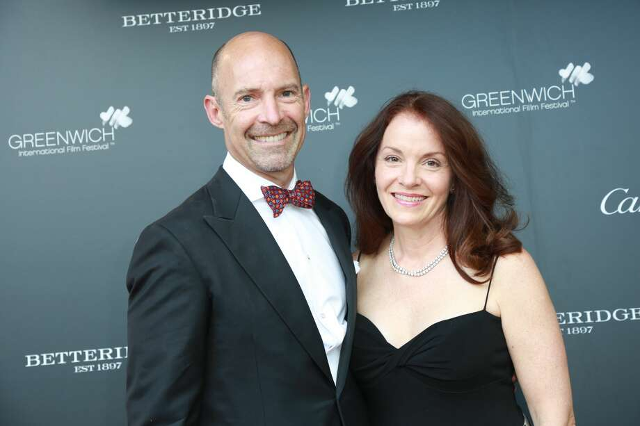 The 2017 Greenwich International Film Festival kicked off on June 1 with the annual Changemaker Honoree Gala. Andrew Niblock, head of the lower school at Greenwich Country Day, has been diagnosed with ALS and was honored as one of the Changemakers. He shared the podium with Academy Award-winning actress Renee Zellweger and supermodel Christy Turlington Burns. Were you SEEN? Photo: Derek T. Sterling/Hearst CT Media