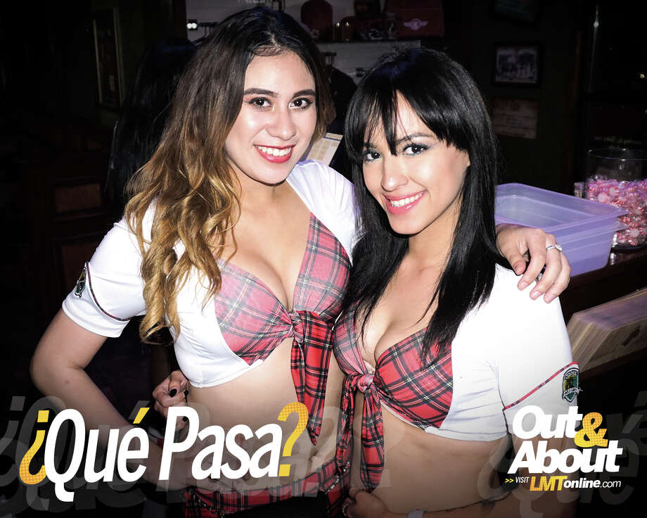 Waitresses and patrons enjoy the newly opened Tilted Kilt in Laredo in this photo from the June 2 edition of ¿Qué Pasa? Out & About. Photo: Jose Gustavo Morales