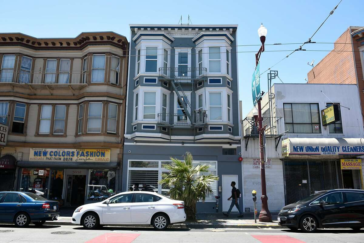 Starcity's building at 2072 Mission Street in San Francisco. The co-living startup now plans 270 apartments at 475 Minna St. in the South of Market district.
