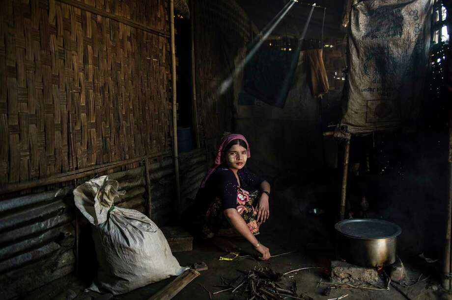 """Among works on view in """"Refugee,"""" presented by FotoFest through July 15:Lynsey Addario, """"Say Tha Mar Gyi, Myanmar, 2015."""" Photo: Lynsey Addario / LYNSEY ADDARIO"""