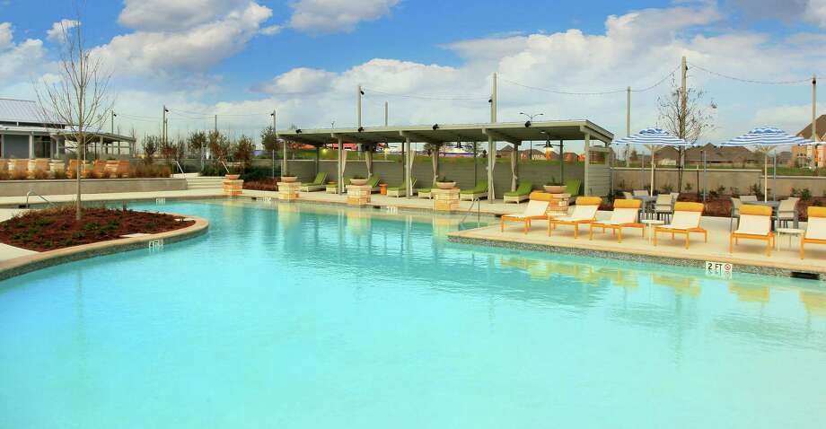 """Camp Pomona features two resort-style pools and furniture, nine cabanas, an """"exploration zone,"""" and an event lawn that overlooks the bayou."""
