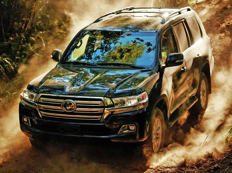 The iconic Toyota Land Cruiser was extensively restyled and updated just last year, getting new exterior styling on the front end and the tail, along with an interior makeover and the addition of new high-tech safety features. Photo: Toyota