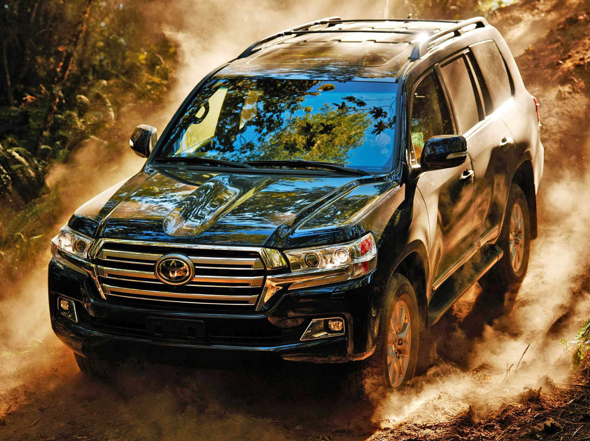 Toyota's redesigned Land Cruiser excels on, off road