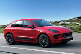 The Porsche Macan GTS has a top speed of 159 mph.