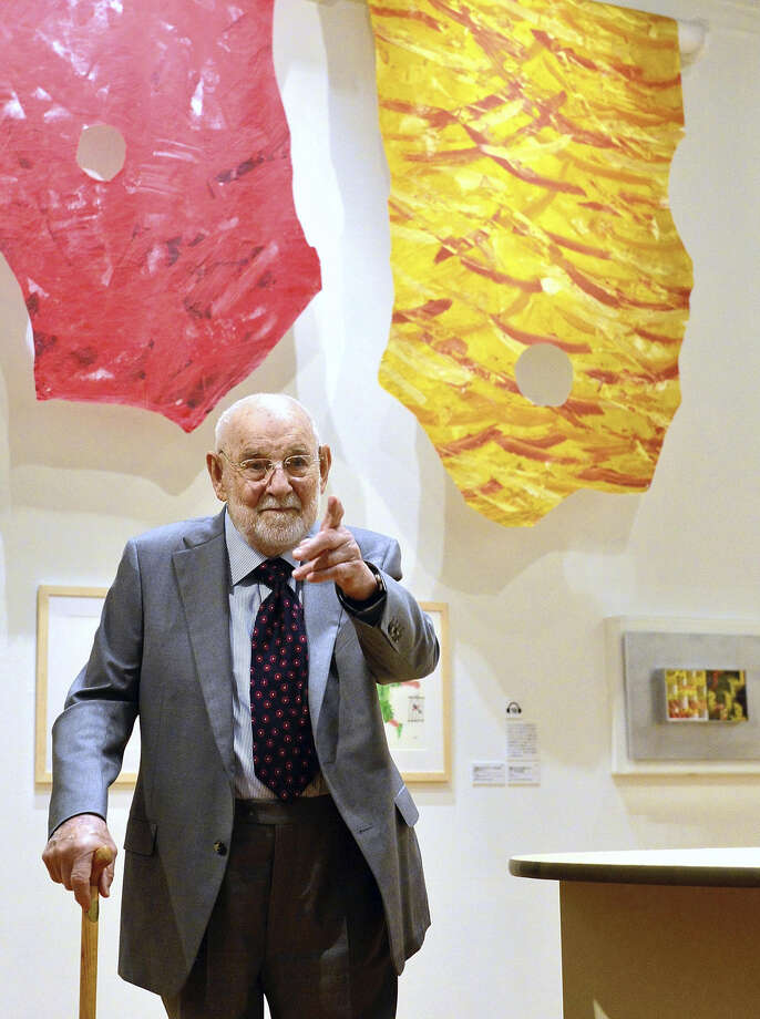 Eric Carle visits Tokyo's Setagaya Art Museum in April Photo: Japan News-Yomiuri Photo / Japan News-Yomiuri