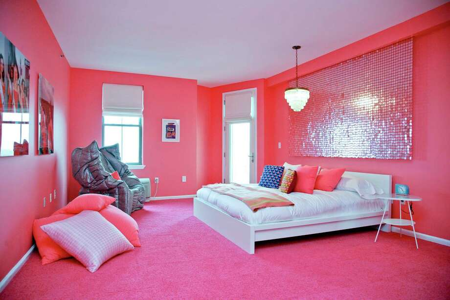 Among the top 35 metro areas, pink bedrooms are most common in Houston homes listings, according to Zillow. Photo: AP / HGTV