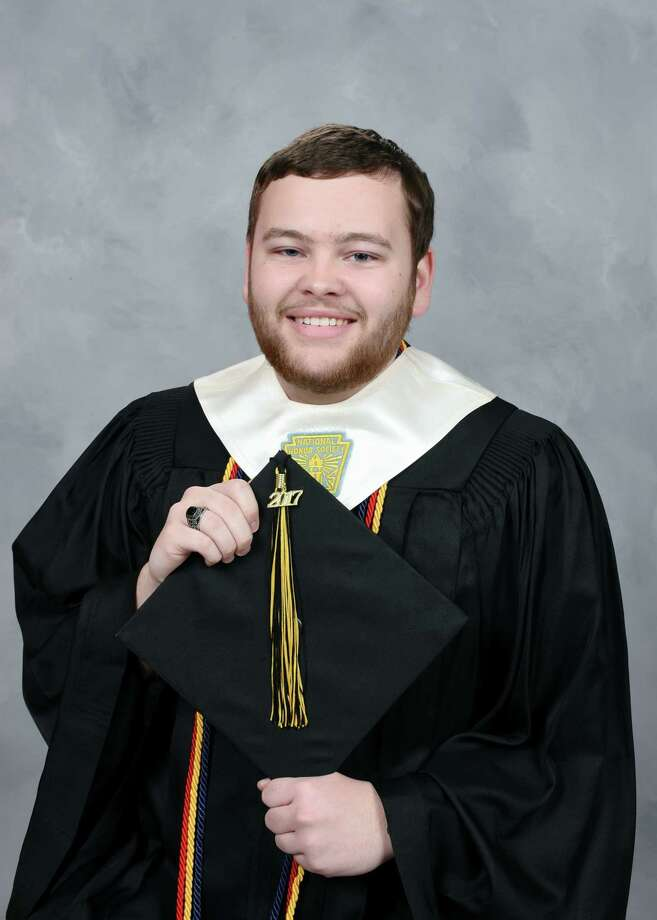 Woodville High School Valedictorian Dillon Wilroy Photo: WISD