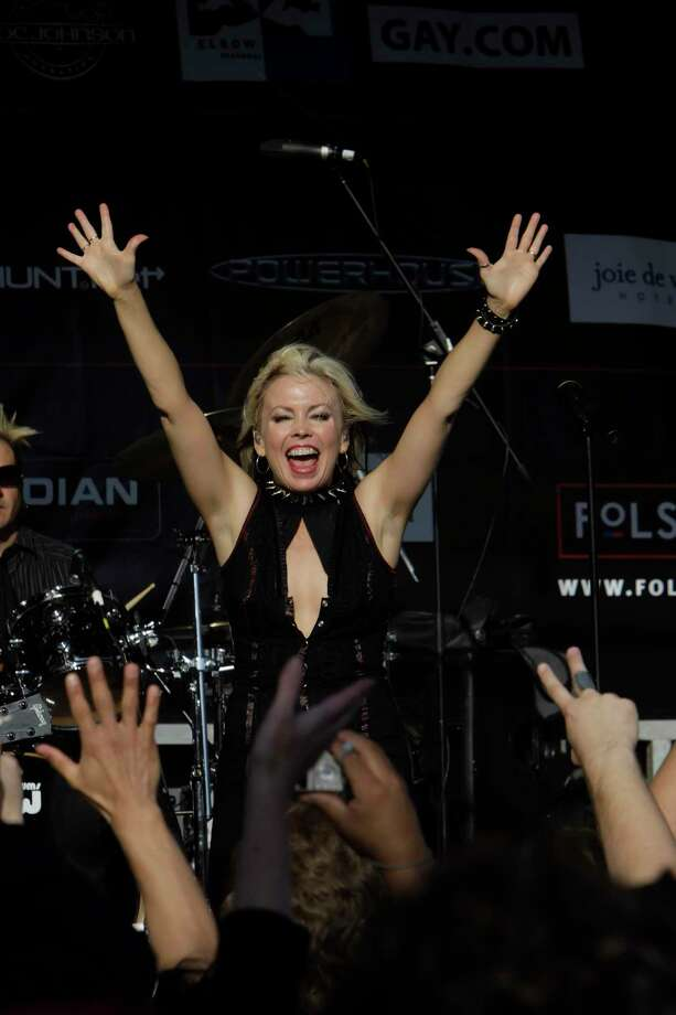 Terri Nunn of Berlin. Photo: Carlos Avila Gonzalez, The Chronicle / ONLINE_YES