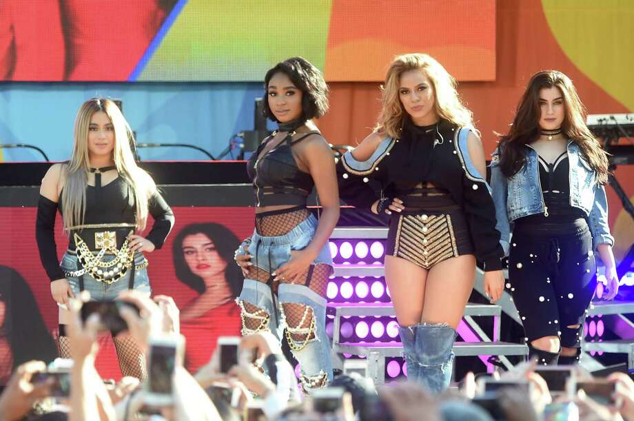 "NEW YORK, NY - JUNE 02:  Fifth Harmony performs on ABC's ""Good Morning America"" at Rumsey Playfield, Central Park on June 2, 2017 in New York City. Photo: Jamie McCarthy, Getty Images / 2017 Getty Images"