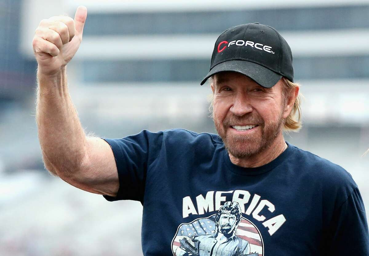 Chuck Norris, (the Chuck Norris from all of the Chuck Norris jokes)