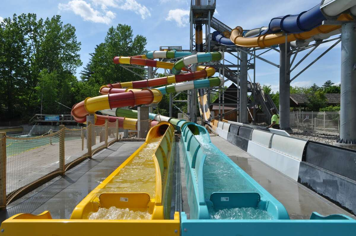 The Bonzai Pipelines at The Great Escape and Splashwater Kingdom.