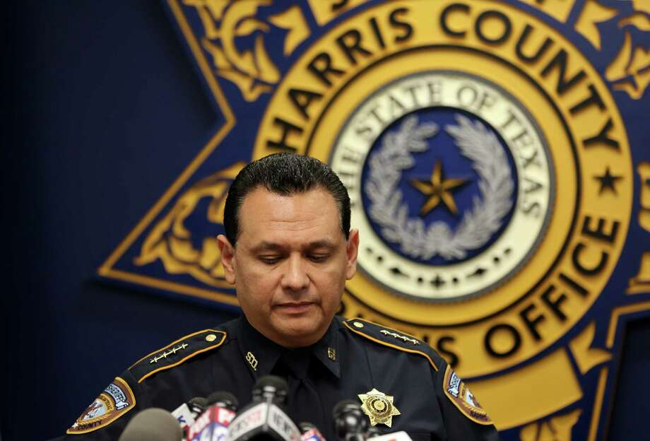 Harris County Sheriff Ed Gonzalez talks to media during a press conference, addressing the investigation of the May 28 altercation that resulted in the death of 24-year-old John Hernandez, at the HCSO Media Room Friday, June 2, 2017, in Houston. The altercation between Hernandez and the husband of a HCSO deputy took place at the Denny's restaurant located on  the 17700 block of Cosby Freeway. Gonzalez said he will seek the help of the Department of Justice and the Texas Rangers  for transparency. Photo: Godofredo A. Vasquez, Houston Chronicle / Godofredo A. Vasquez