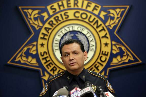 Harris County Sheriff Ed Gonzalez talks to media during a press conference, addressing the investigation of the May 28 altercation that resulted in the death of 24-year-old John Hernandez, at the HCSO Media Room Friday, June 2, 2017, in Houston. The altercation between Hernandez and the husband of a HCSO deputy took place at the Denny's restaurant located on  the 17700 block of Cosby Freeway. Gonzalez said he will seek the help of the Department of Justice and the Texas Rangers  for transparency.