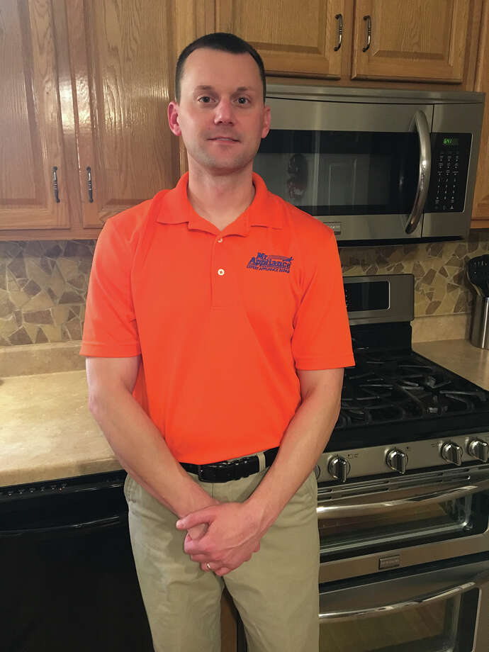 Fairview Heights resident Chad Grubofski is preparing to open his new franchise, Mr. Appliance of Mid-America, on June 5. Photo: For The Intelligencer