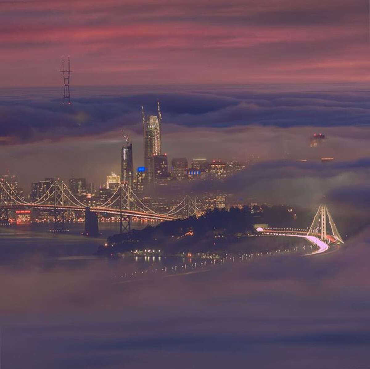 @gcp19 titled his photo from Grizzly Peak in SF