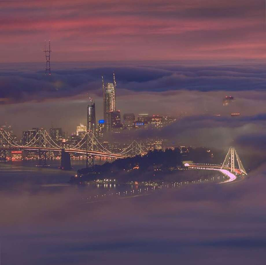 "@gcp19 titled his photo from Grizzly Peak in SF ""magical city."" Photo: Instagram / Gcp19"