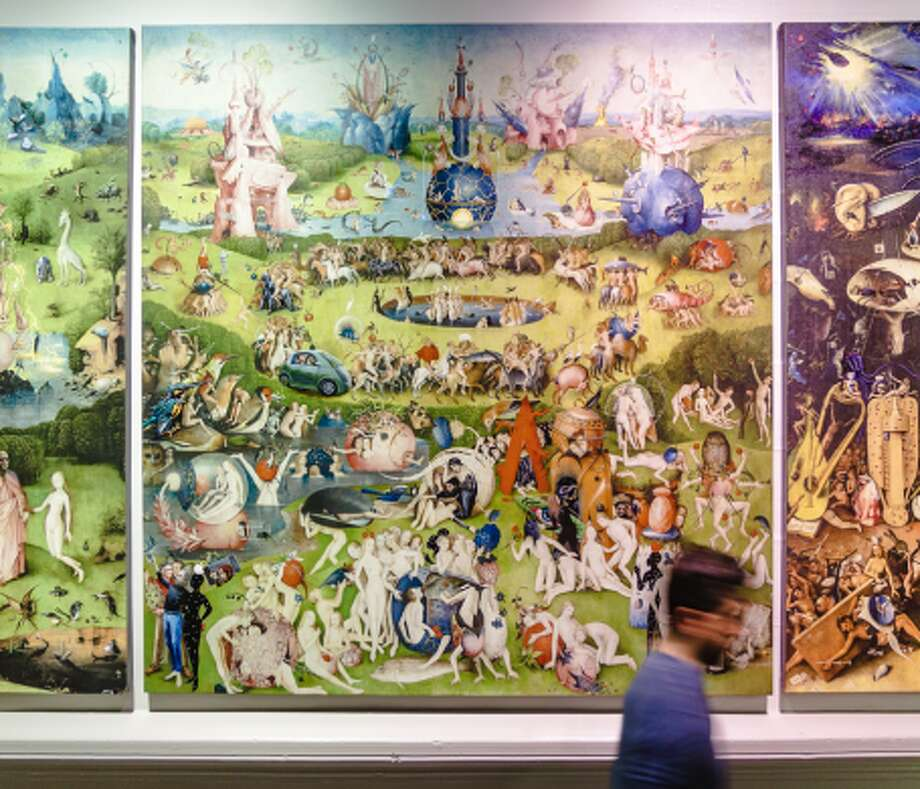 An updated version of Hieronymus Bosch's The Garden of Earthly Delights, by Evgeniy Lapchenko. Photo: Karen Williams/ San Francisco Magazine