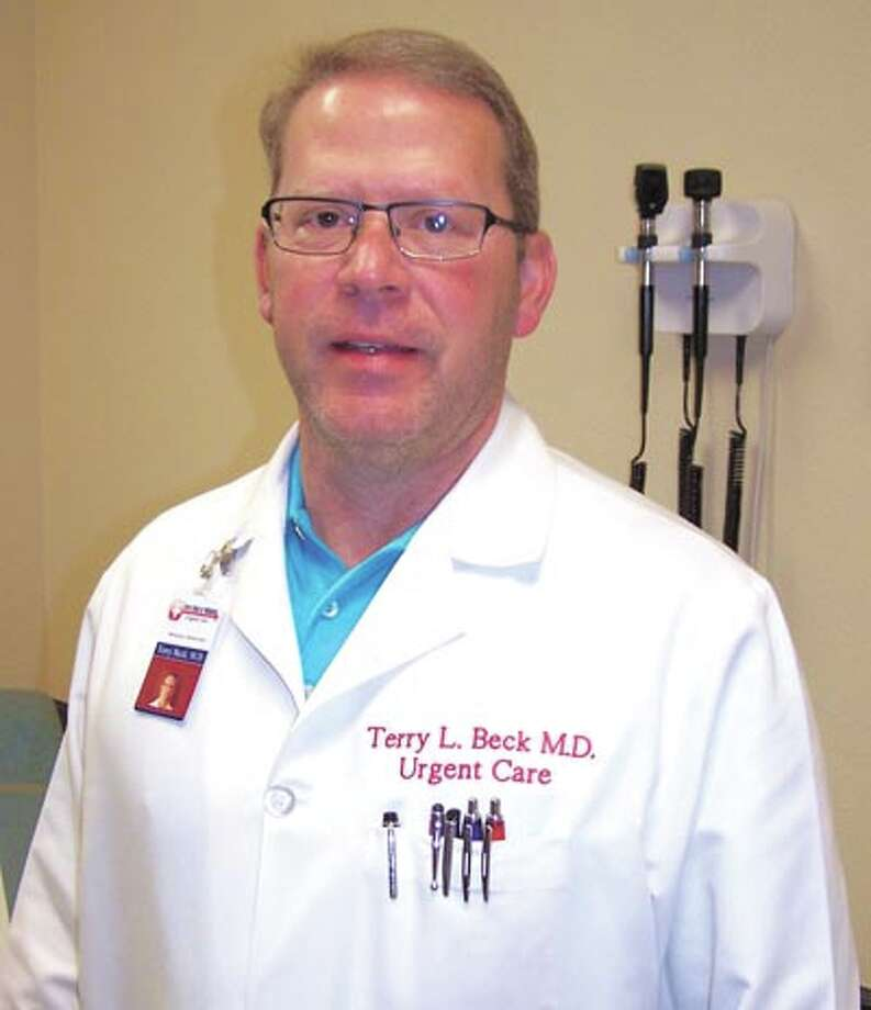 Dr. Terry Beck of WestTexas Urgent Care shares some ways to stay safe in summer's heat. Photo: Paul Wiseman
