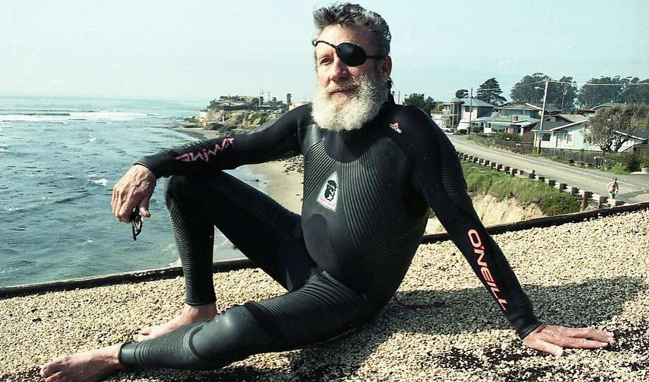 Jack O'Neill inventor of the wetsuit  Photos taken near East Cliff Drive in Santa Cruz March 11, 1992 Photo: Liz Hafalia, The Chronicle