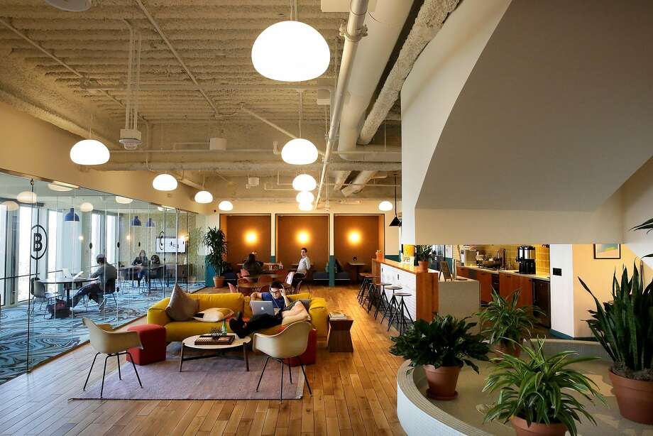 WeWork has replaced beer with less-regulated options, like kombucha. Photo: Michael Macor, The Chronicle