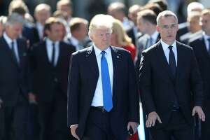 The refusal of President Donald Trump (with NATO Secretary-General Jens Stoltenberg and other world leaders in Brussels) to reaffirm the U.S. commitment to Article 5 undermines its deterrence value.