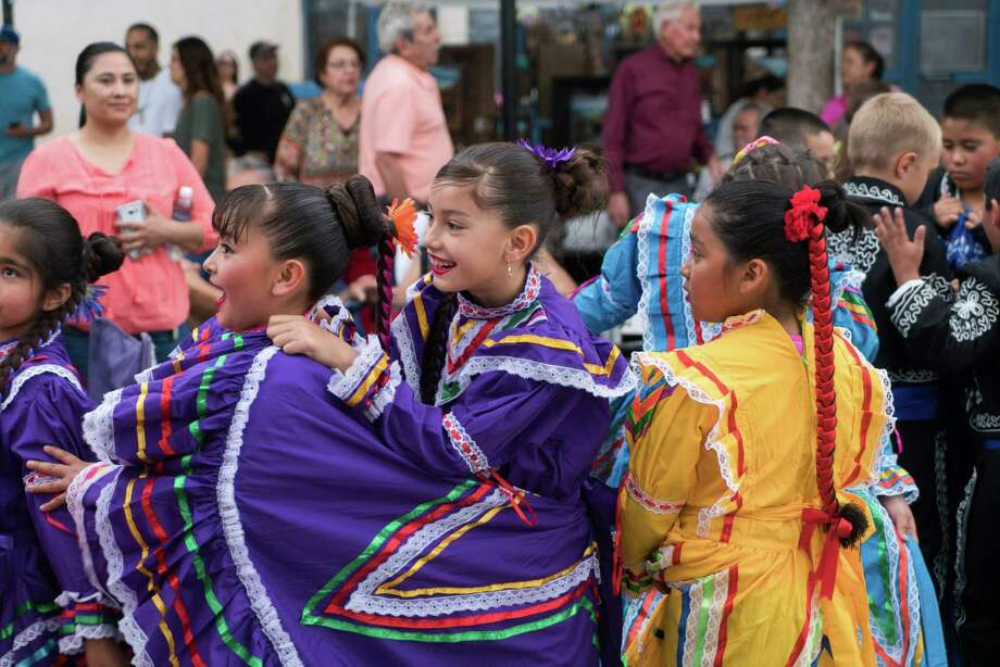 Ballet Folklorico dancers from East Picacho Elementary School prepare to perform for the Cinco De Mayo Fiesta on the plaza of Mesilla, New Mexico last month. Though Americans have learned that Cinco de Mayo is not the same as Mexican Independence Day, it has still be appropriated as a day to drink and party. Photo: PAUL RATJE /AFP /Getty Images / AFP or licensors