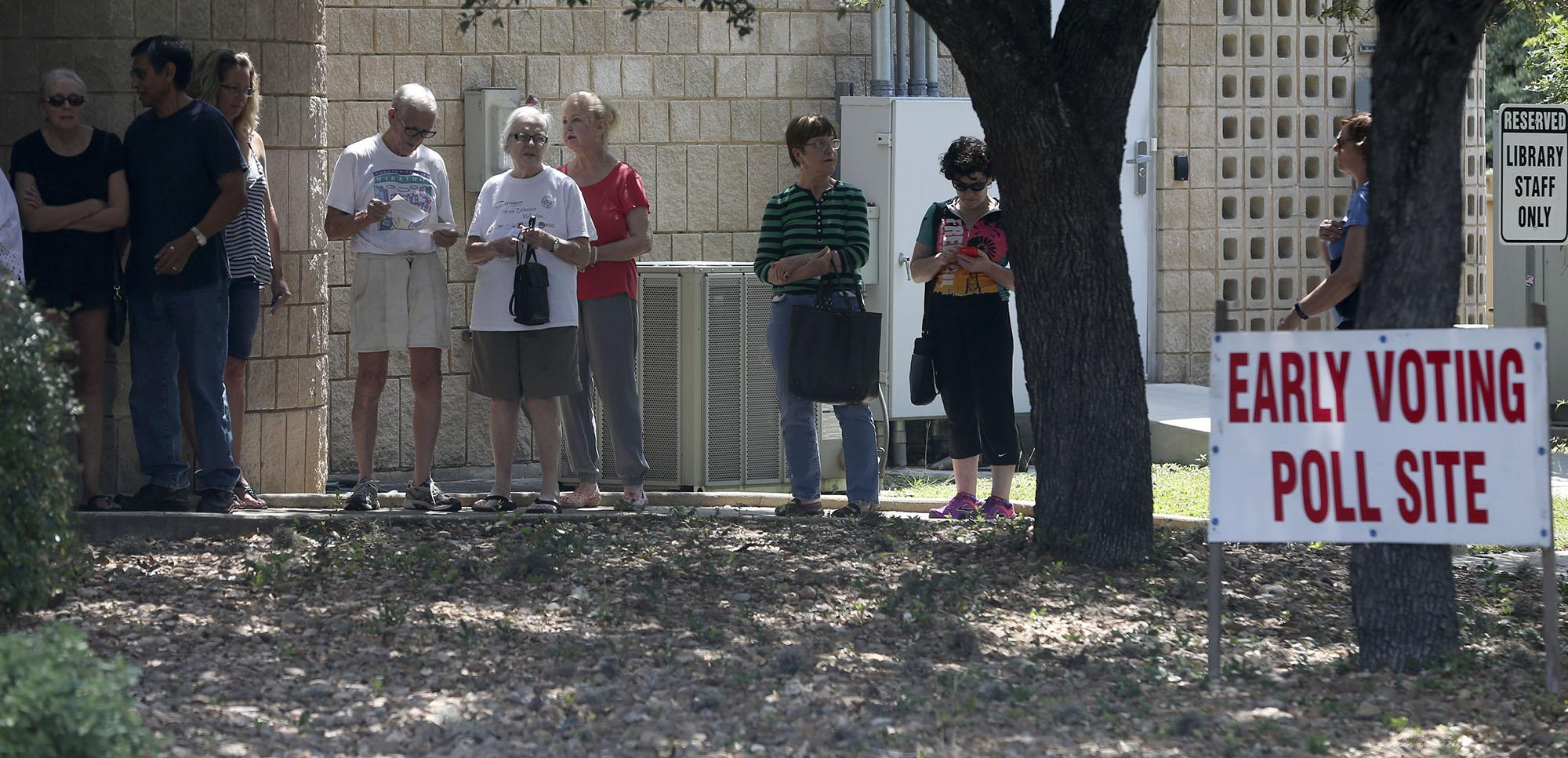 North Side early voting locations draw higher voter ...
