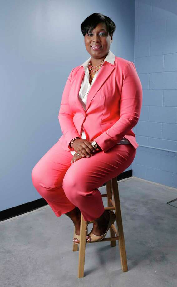Trina Grier, regional HR manager for War-Mart in the offices of the newly opened store in Katy, TX, June, 2017. (Michael Wyke / For the  Chronicle) Photo: Michael Wyke, Freelance / © 2017 Houston Chronicle
