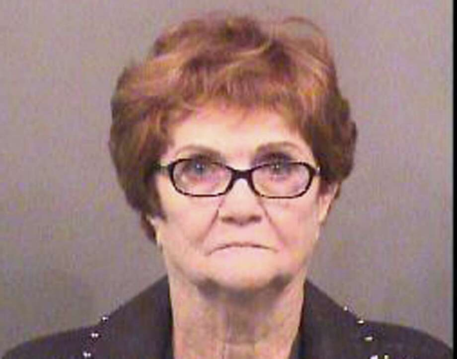 This booking photo released by Sedgwick County Sheriff's Office shows Lila Mae Bryan of Mesquite, Texas. The 82-year-old Texas woman was arrested and jailed for about two hours after she scuffled with a Kansas airport security officer who confiscated an oversized liquid from her carry-on bag, early Wednesday, May 31, 2017, authorities said. (Sedgwick County Sheriff's Office via AP) Photo: HOGP / Sedgwick County Sheriff's Office