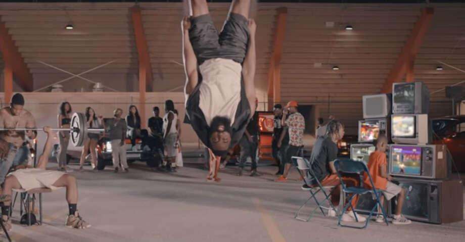 """James Harden in Travis Scott's """"Way Back"""" music video. Photo: Travis Scott"""