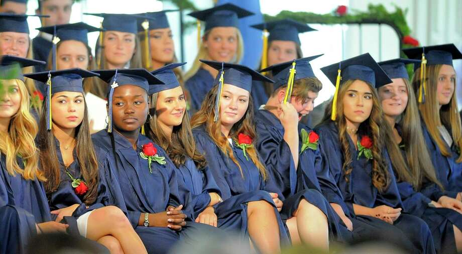 King School's Class of 2017 Commencement Exercises at the school in Stamford, Conn., on Friday June 2, 2017. Photo: Matthew Brown, Hearst Connecticut Media / Stamford Advocate