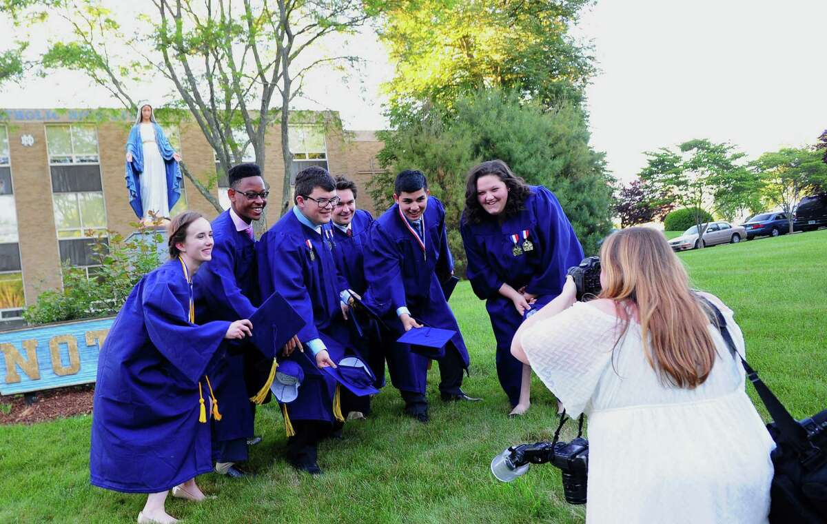 Notre Dame of Fairfield's Class of 2017 Commencement Exercises in Fairfield, Conn., on Friday June 2, 2017.