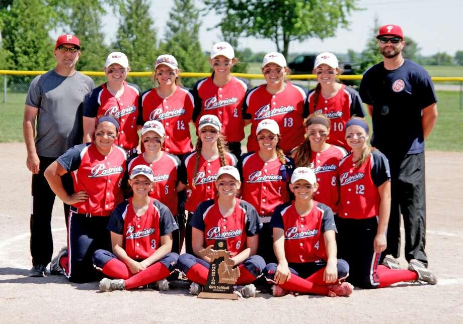Division 4 Baseball/Softball Districts 2017 Photo: Paul P. Adams/Huron Daily Tribune