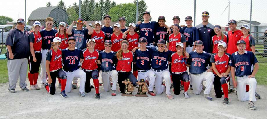 Division 4 Baseball/Softball Districts 2017 Photo: Paul P. Adams/Huron Daily Tribune