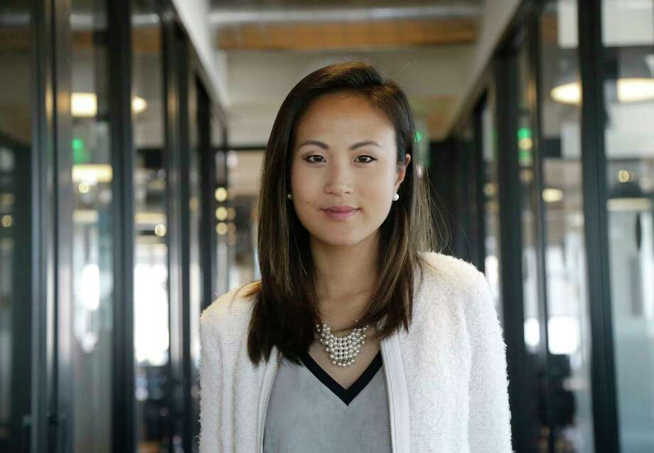 In this May 19, 2017, photo, Stephanie Shyu, co-founder of AdmitSee, poses for a picture, in San Francisco. Shyu says she and her business partner collaborated well three years earlier in forming AdmitSee, a San Francisco-based company that helps students apply for college and graduate school. As time went on, they had big differences about the company's long-term strategy and how it should be managed. (AP Photo/Jeff Chiu) Photo: Jeff Chiu, STF / Copyright 2017 The Associated Press. All rights reserved.