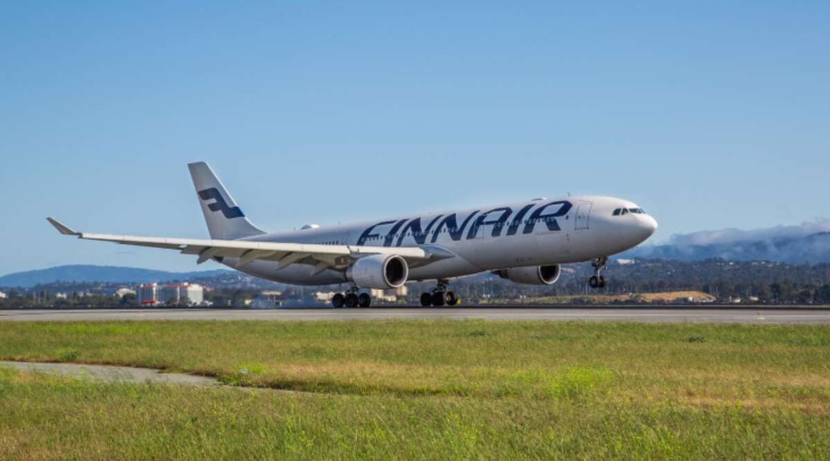 Finnair's resumes summertime Airbus A330 flights at San Francisco International (Photo: Peter Biaggi / SFO)