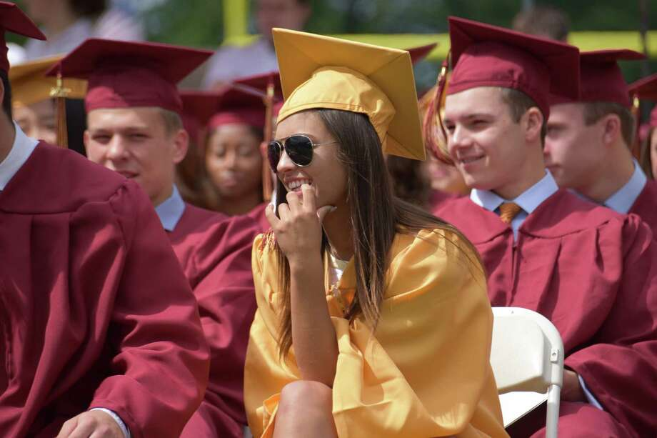 St. Joseph High School celebrates commencement on Saturday, June 3, 2017 in Trumbull, Conn. Photo: Bailey Wright, For Hearst Connecticut Media / Connecticut Post Freelance