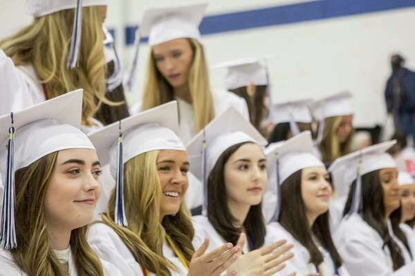 The Academy of Our Lady of Mercy, Lauralton Hall held their 2017 graduation ceremony for 129 students graduates on the campus in Milford, Conn. on Saturday, June 3, 2017.
