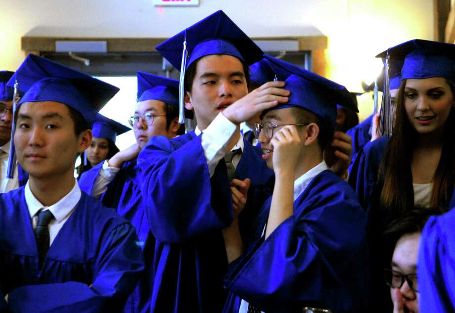 Christian Heritage Academy's 34th annual Commencement Exercises in Trumbull, Conn., on Saturday June 3, 2017. Photo: Christian Abraham, Hearst Connecticut Media / Connecticut Post