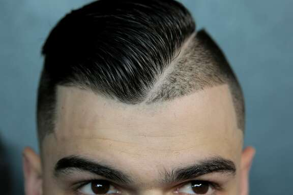 Houston Astros starting pitcher Lance McCullers Jr. (43) and his hair style. Houston Astros and Baltimore Orioles in the second of a three-game series at Minute Maid Park on Saturday, May 27, 2017, in Houston. Astros lead the series 1-0. ( Elizabeth Conley / Houston Chronicle )