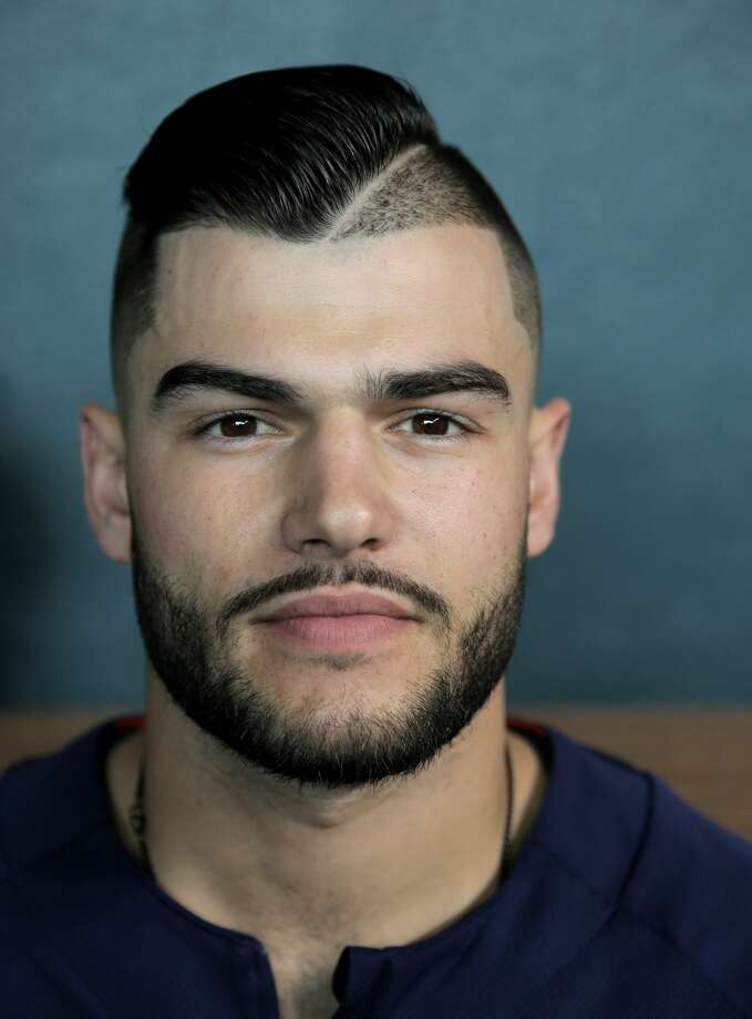 Houston Astros starting pitcher Lance McCullers Jr. (43) and his hair style. Houston Astros and Baltimore Orioles in the second of a three-game series at Minute Maid Park on Saturday, May 27, 2017, in Houston. Astros lead the series 1-0. ( Elizabeth Conley / Houston Chronicle ) Photo: Elizabeth Conley/Houston Chronicle