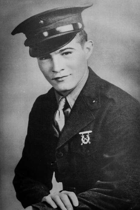 Private 1st Class Paul Merriman in 1945.