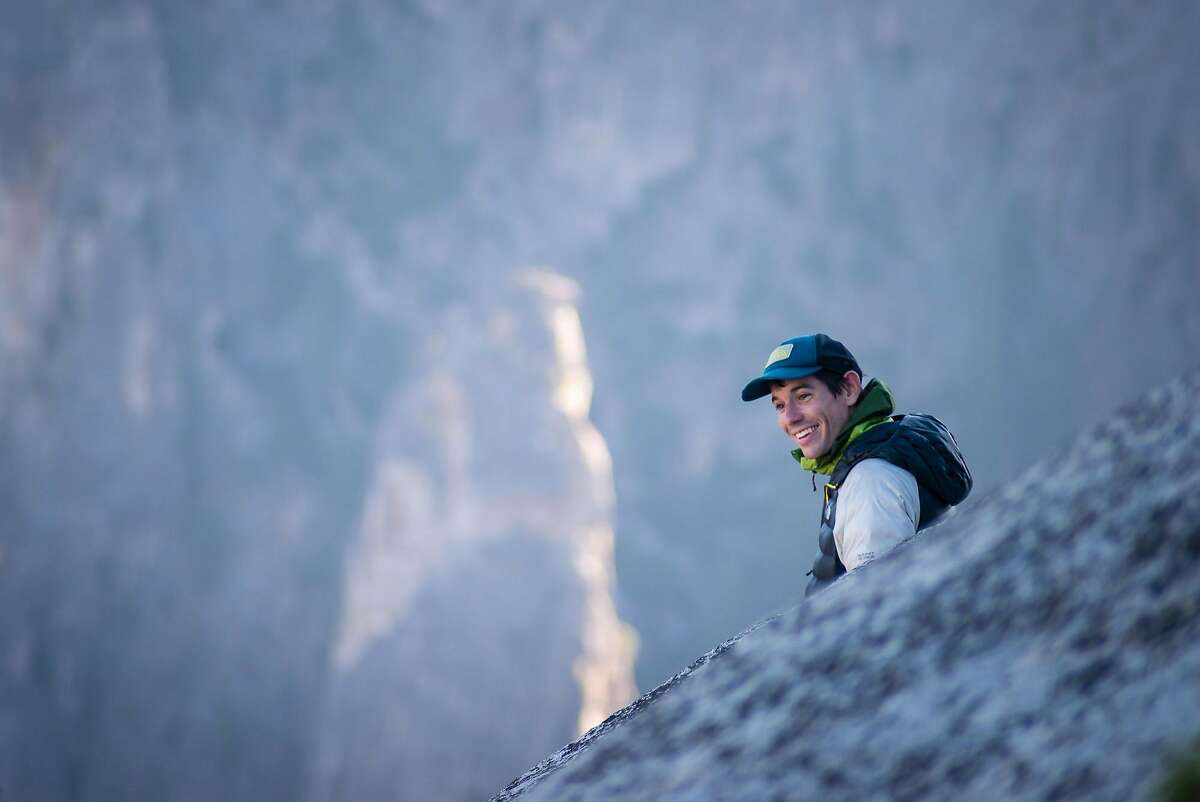 Alex Honnold, who began climbing at age 11, reaches the top of El Capitan's southeast face in 2015.