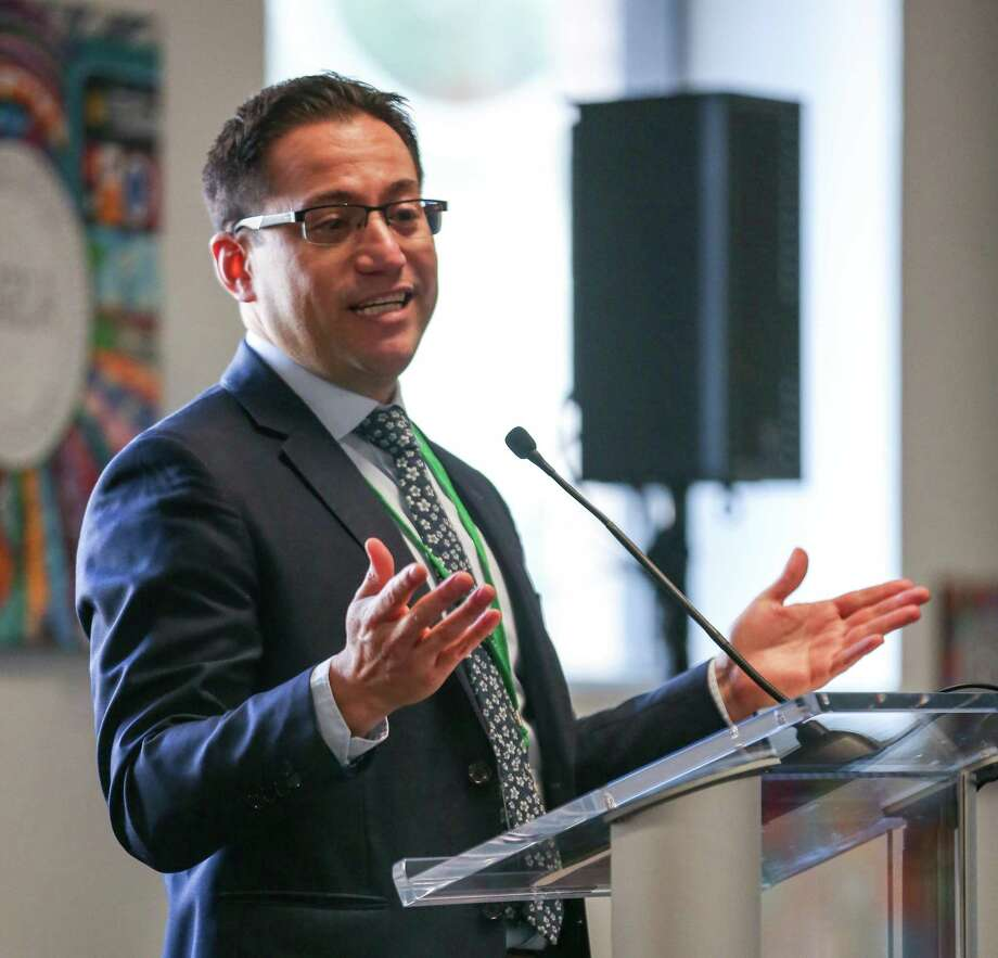 Orson Aguilar, executive director of the Greenlining Institute, wants to keep Uber in check in Oakland. Photo: Amy Osborne / Amy Osborne / Special To The Chronicle / ONLINE_YES