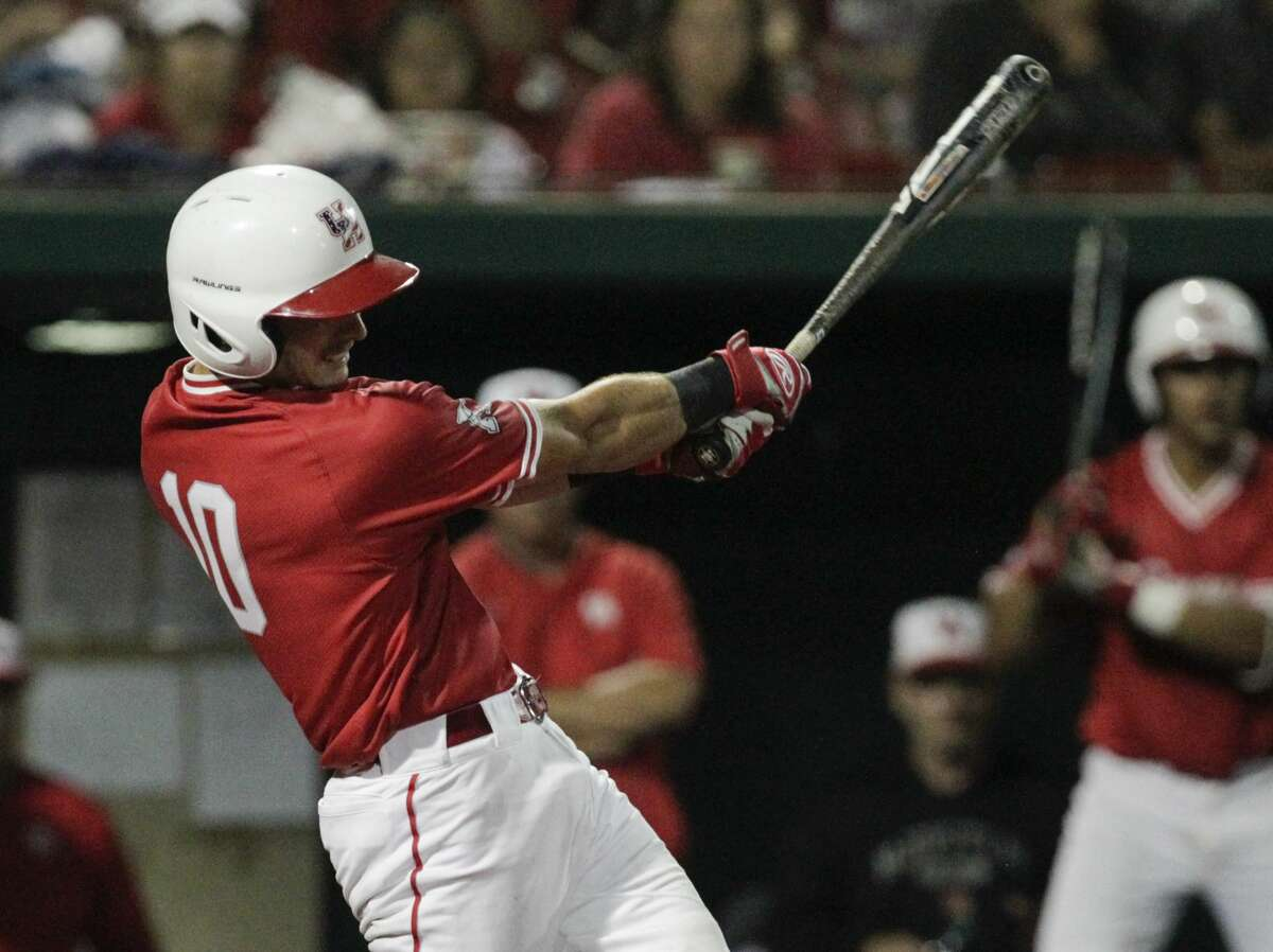 University of Houston catcher Connor Wong was picked by the Dodgers in the third round of the 2017 MLB Draft.
